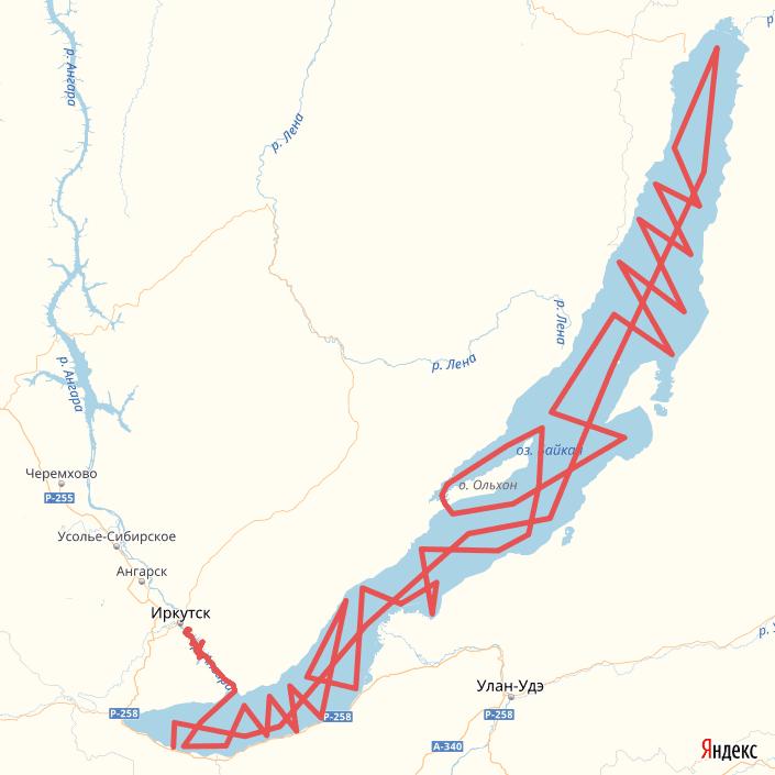 Вслед за льдом Байкала